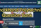 Jharkhand Polytechnic Question Bank PDF Dawnload