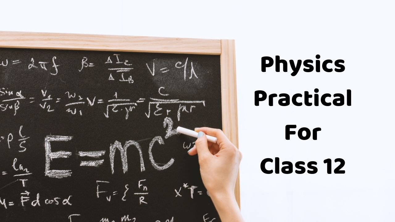 Physics Practical File For Class 12 - PDF Download » GKPUR COM